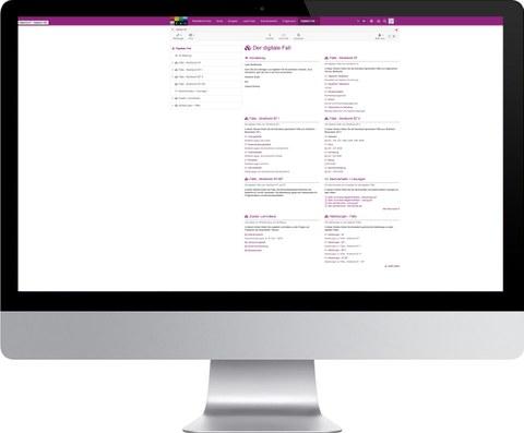 Schaubild mit Verlinkung zu OpenOLAT-Kurs