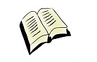 Aufgeschlagenes Buch, verlinkt zum Bereich Publikationen